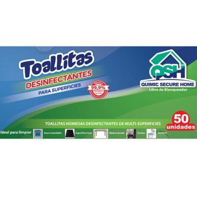 Toallitas Desinfectantes QSH x50 unidades