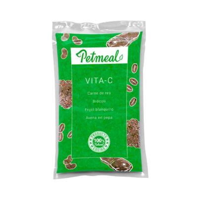 Alimento Petmeal Perro Vita-C Carne 500G x 4Unids