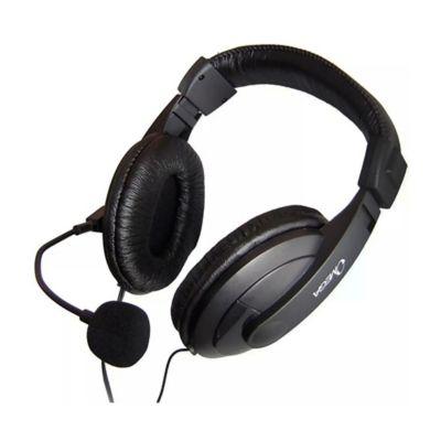 Diadema Stereo con Micrófono 3.5mm Omega-Negro