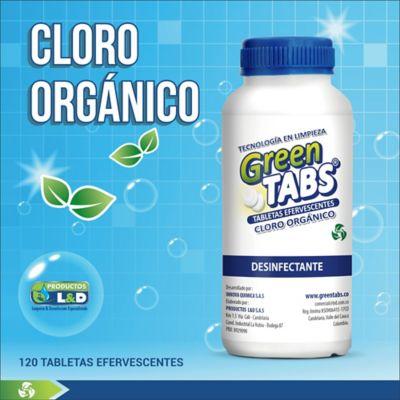 Cloro Org Greentabs Tabletas x2.5gr 120 Unidades