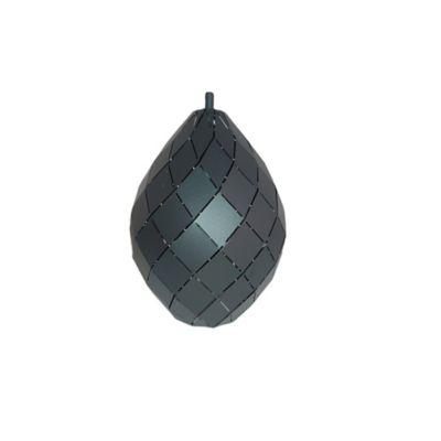 Lámpara Colgante para Bombillo E27 Negra