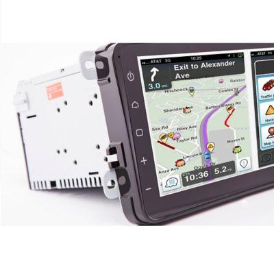 Radio Android con Sistema de Navegación Volkswagen Golf Universal
