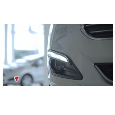 Set x 2 Luces Led DRL Vision Diurna Ford Fiesta