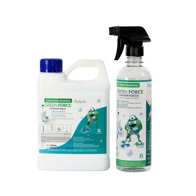 Limpiador Orgánico Greenforce x1Lt Bot.Aspersión