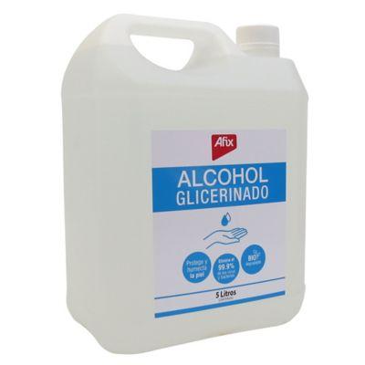 Alcohol Afix Glicerinado Paq x 5Lt