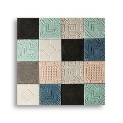 Mosaico Collage Antideslizante Producto Artesanal (20x20) Cjx1m2