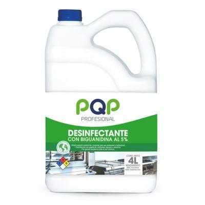 Desinfectante Bactericida con Biguanidina x4 Litros