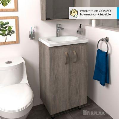 Lavamanos Eco 48x38 con Mueble Básico A Piso - Tambo