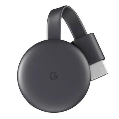 Chromecast 3ra Generacion Ultimo Modelo Negro