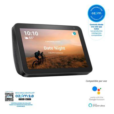 Asistente Inteligente Echo Show 8 Alexa HD Smart Display Negro