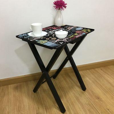Mesa Auxiliar Coffee 48x36cm
