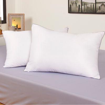 Almohada x 2Und Micro Toque Frío 50x70cm Blanco