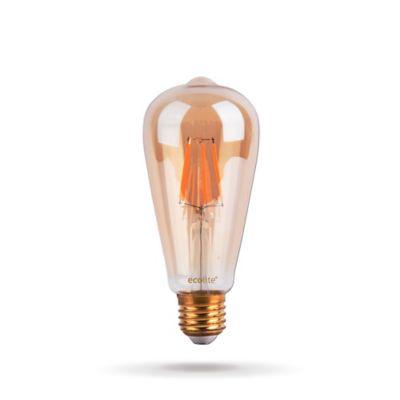 Bombillo LED Filamento St64 4W 2200K