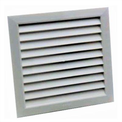 Rejilla Ventilación 6x6(15x15Cm)Ventana Plastic Bl