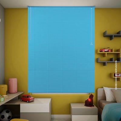 Persiana Pvc 160x140 cm Azul Capri