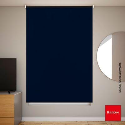 Persiana Blackout 120x180 cm Azul Noche
