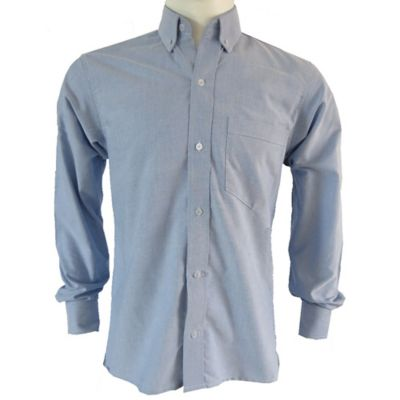 Camisa Clasica Hombre Azul Oxford Talla XXL