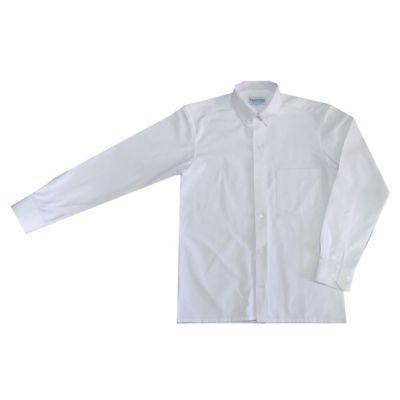 Camisa Clasica Hombre Blanco Oxford Talla XXL