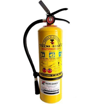 Extintor 10 Lbs Tipo A B C con Manguera