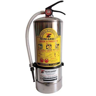 Extintor 2,5 Lbs Agua en Acero