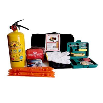 Kit de Lujo Primeros Auxilios + Extintor Tipo A B C 5 Piezas