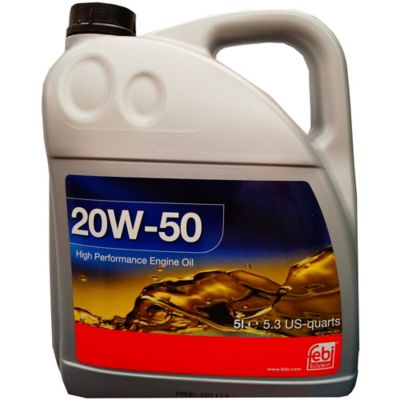 Aceite Mineral Sae 20W-50 x 5 Litros