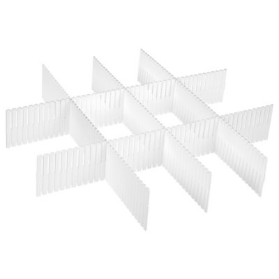 Separador Plastico Para Cajones 5 Unidades