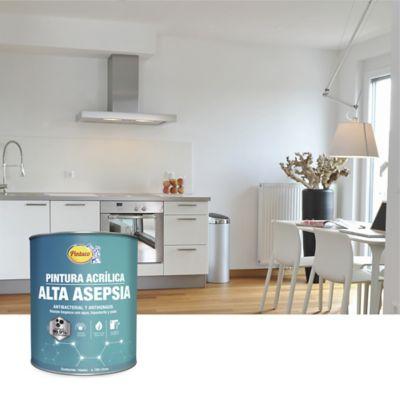 Pintura para Interior Alta Asepsia 1 Galón Blanco Precio Especial