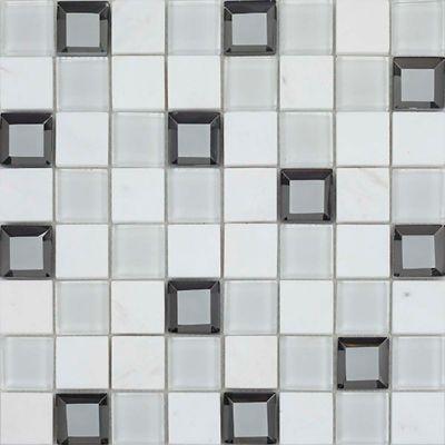 Mosaico Keops Blanco 30x30 Cm