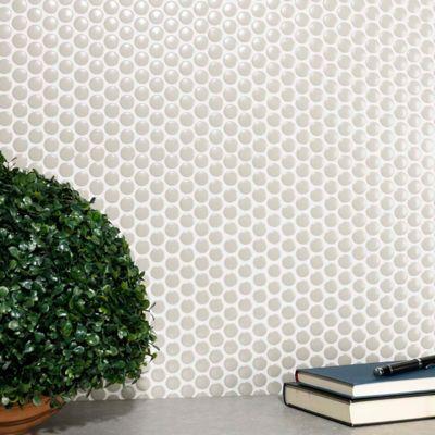 Mosaico Penny Grey Gloss 30X30cm