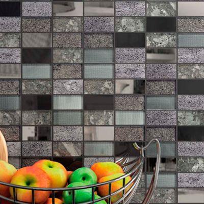 Mosaico Infinity Black 30x30 Cm