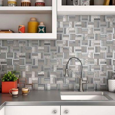 Mosaico Time Grey 30x30 Cm