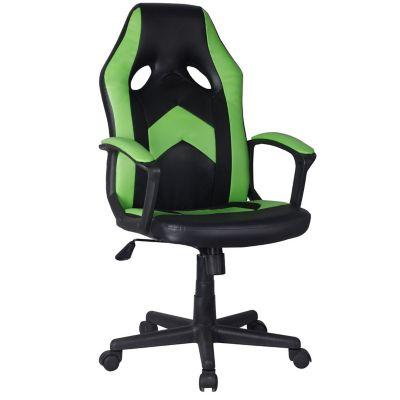 Silla Gamer Verde/Negra