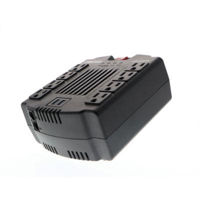 Regulador de voltage Forza FVR-1211USB con 8 salidas con USB