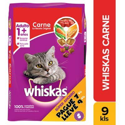 Alimento Para Gato Adulto Carne Pague 7Kg  Lleve 9Kg