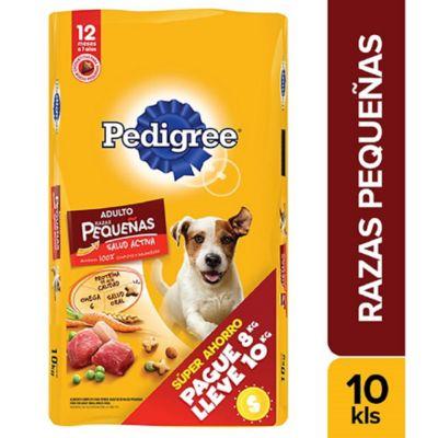 Alimento Para Perro Adulto Raza Pequeña Pague 8 Lleve 10 Kg