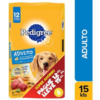 Alimento Para Perro Adulto Pague 12 Lleve 15 Kg