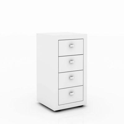 Cajonera Ferrara 38.5x74.5x37.5 Blanco