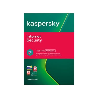 Antivirus Internet Security 3 Dispositivos