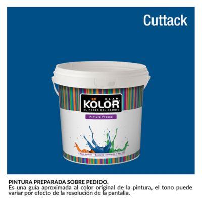Pintura para Interior Azul Cuttack Deluxe Mate 1/2 Galón