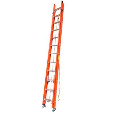 Escalera Extension Fibra de Vidrio 24 Peldaños 7.31 Mts