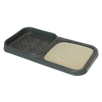 Cubeta para Desinfección 43x82x7cm + Secador Gris