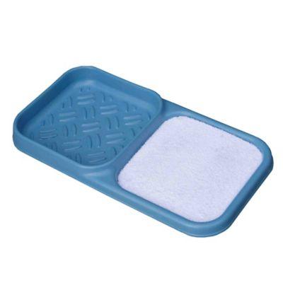 Cubeta para Desinfección 43x82x7cm + Secador Azul