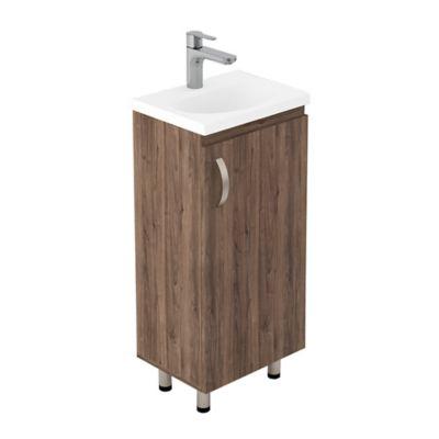 Lavamanos Eco 40x30 con Mueble Básico A Piso - Sikuani