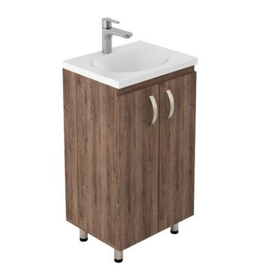 Lavamanos Eco 48x38 con Mueble Básico A Piso - Sikuani
