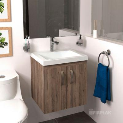 Lavamanos Oslo 48x43 con Mueble Básico Elevado - Sikuani