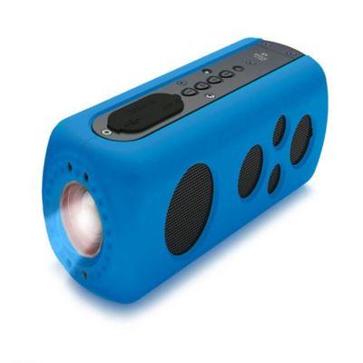Parlante Bluetooth Sound Box con Linterna Azul