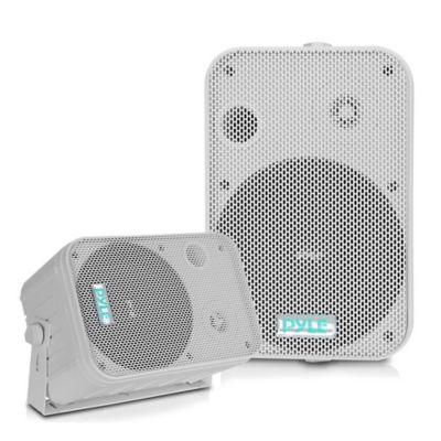 Setx2 Parlantes de Pared 250W Blanco