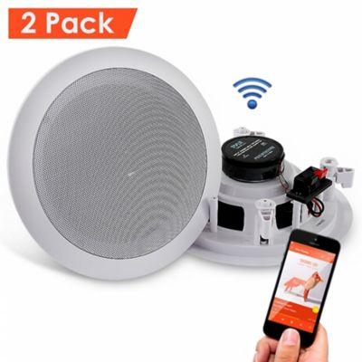 Altavoces de Techo con Bluetooth 200W Blanco