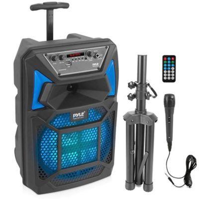 Parlante Cabina Bluetooth con Luz LED 400 W Negro